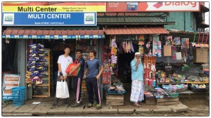 DayII: Shopping for supplies at Haputale