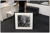 """Frame tests of a 20""""x20"""" print (without captions and signature lines) at Focus Gallery in Chennaii."""