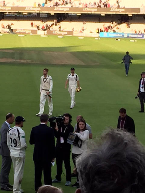 Happy ending for Middlesex