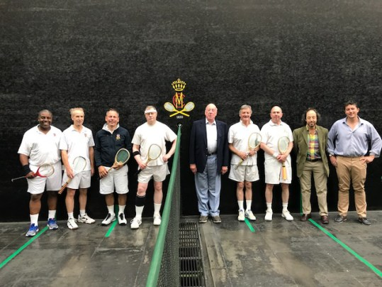 Big Match Weekend At Lord's Part One: MCC v HAC Real Tennis Match, 21 July  2017