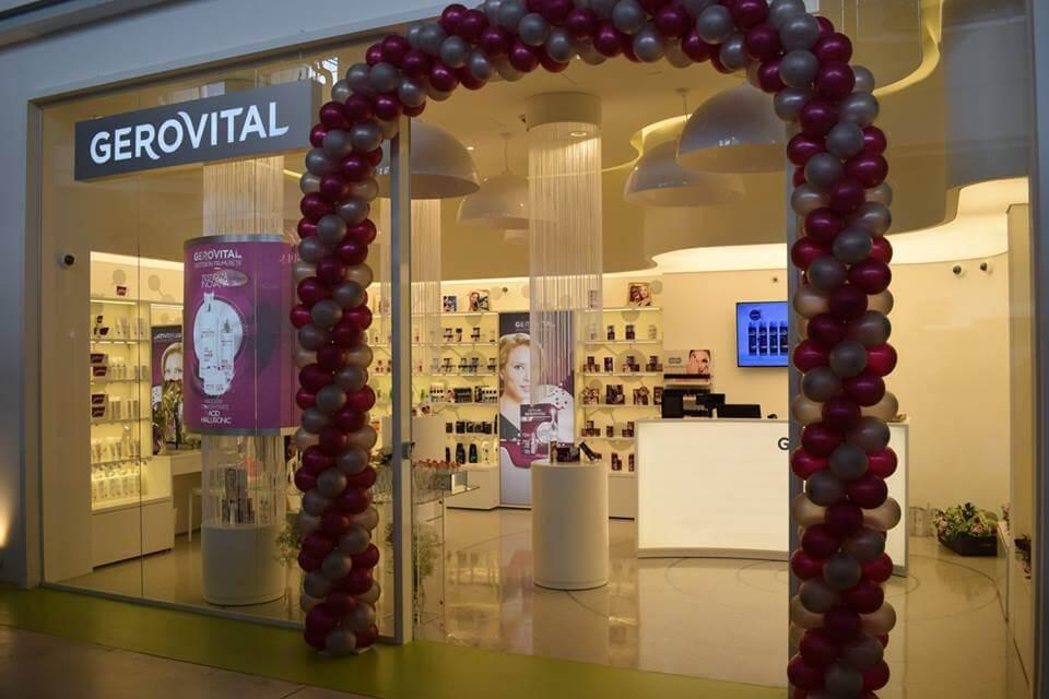 Frumuseţea are farmec în primul magazin Gerovital din Oltenia