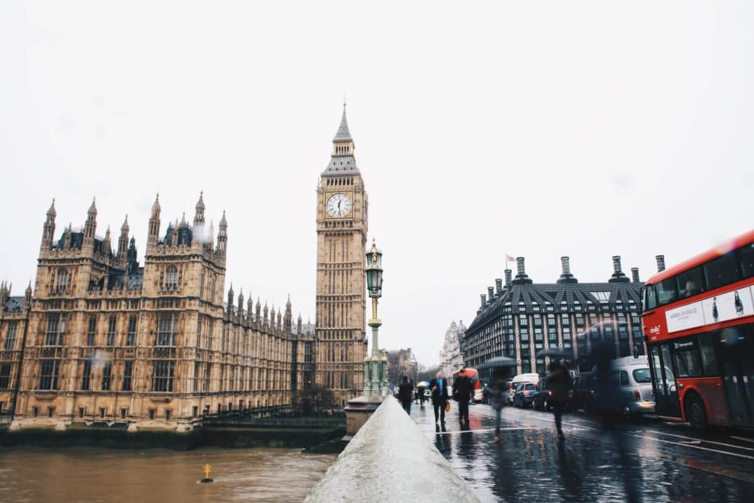 Ploaie englezească
