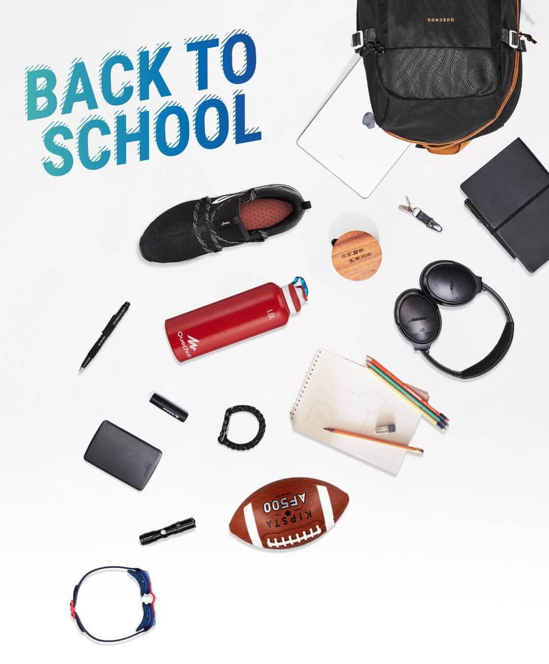 Back to school cu Decathlon