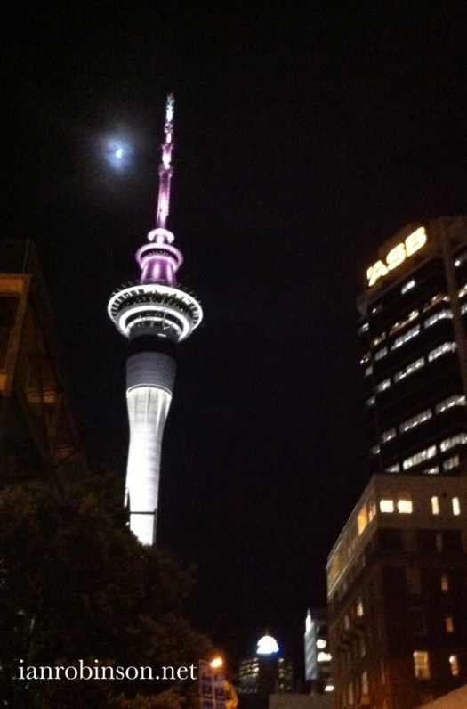 Sky City and The Moon Auckland