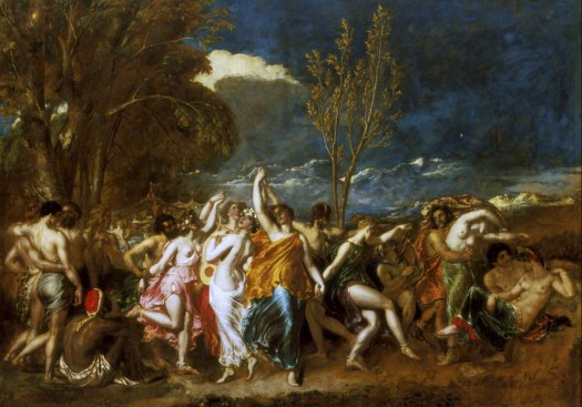 William Etty's The World Before the Flood