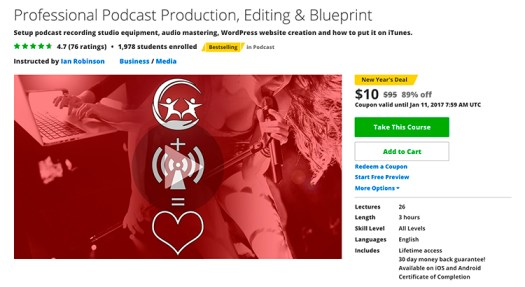What Podcast Production Looks Like Discounted