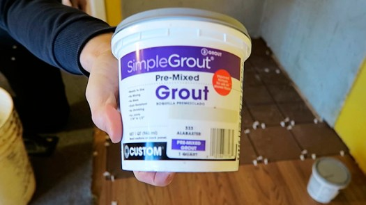 How to Apply Grout 1