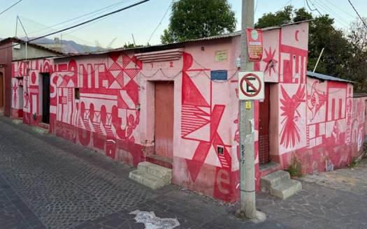 rojo y blanco oaxaca calle de manuel garcia vigil