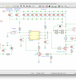 it s all about drawing the schematic aka circuit diagram which produces the netlist and bom the netlist is required for pcb layout or can be used for  [ 1340 x 948 Pixel ]