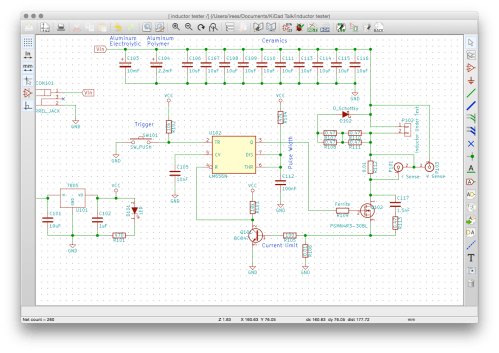 small resolution of it s all about drawing the schematic aka circuit diagram which produces the netlist and bom the netlist is required for pcb layout or can be used for