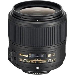 Nikon 35mm f1.8 G ED AF-S Nikkor Lens