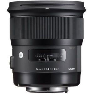 Sigma 24mm f1.4 DG HSM Art Lens - Canon