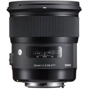 Sigma 24mm f1.4 DG HSM Art Lens - Nikon