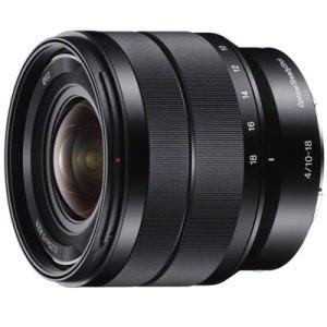 Sony E10-18mm f4 OSS Lens