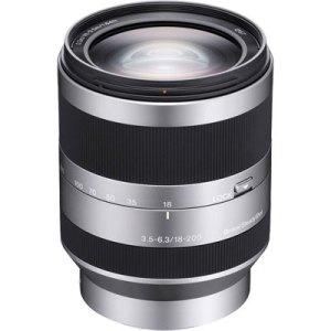 Sony E18-200mm f3.5-6.3 OSS Lens