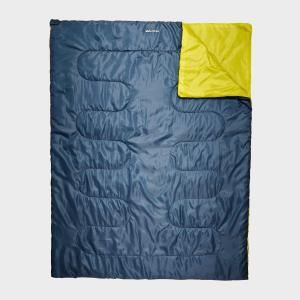 Eurohike Super Snooze Double Sleeping Bag, Blue/Blue