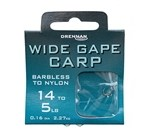 Wide Gape Carp Hooks To Nylon