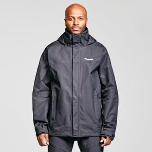Berghaus Men's Rg Alpha 2.0 Waterproof Jacket - Black/Blk, Black/BLK