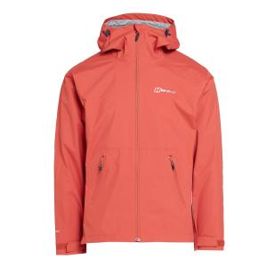 Berghaus Men's Stormcloud Waterproof Jacket - Red/Drd$, Red/DRD$