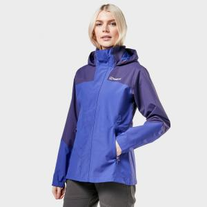 Berghaus Women's Orestina Waterproof Jacket - Blue/Blue, Blue/BLUE