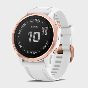 Garmin Fēnix 6S Pro Multi-Sport GPS Watch, White/WHT