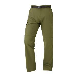 Hi-Gear Men's Nebraska Ii Zip-Off Walking Trousers - Green/Trous, GREEN/TROUS