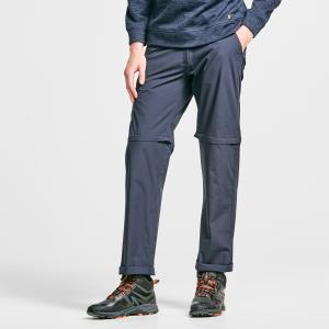 Hi-Gear Men's Nebraska Ii Zip-Off Walking Trousers - Navy/Trous, NAVY/TROUS