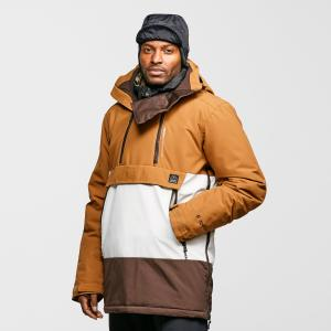 Protest Men's Backflip Anorak Ski Jacket - Brown/Brn, Brown/BRN
