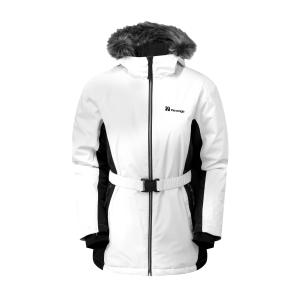The Edge Women's Verbier Snow Jacket - White/Black, White/Black