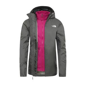 The North Face Women's Tanken Zip-In Triclimate 3-In-1 Jacket - Khaki/Khk, Khaki/KHK