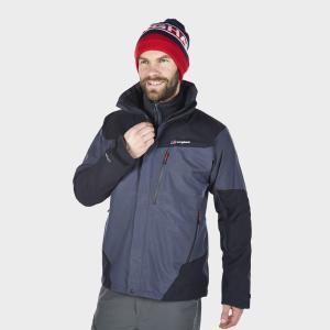 Berghaus Men's Arran Waterproof Jacket - Carbon/Black, Carbon/Black