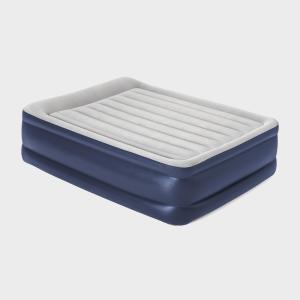 Hi-Gear High Rise Flock King Size Airbed - Navy/Nvy, Navy/NVY