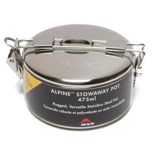 MSR Alpine Stowaway Pot, Silver/475ML