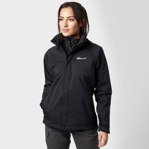 Berghaus Women's Calisto Delta 3 In 1 Jacket - Blk/Blk, BLK/BLK
