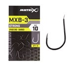 MXB-3 Extra Strong Feeder Barbed Spade End Hooks