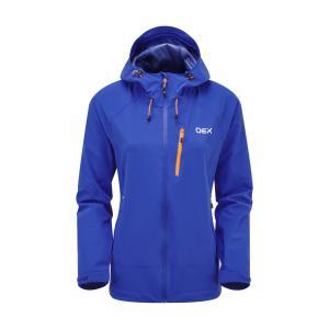 Oex Women's Fortitude Waterproof Jacket - Blu/Blu, BLU/BLU