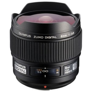 Olympus 8mm f3.5 Fisheye ZUIKO Digital Four Thirds lens