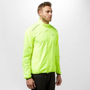 Peter Storm Men's Running Jacket - Yellow/Silver, Yellow/Silver