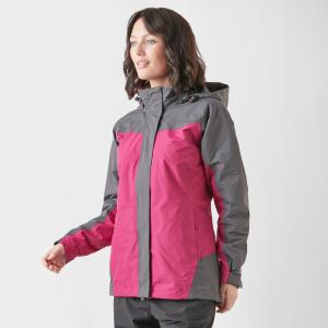 Peter Storm Women's Lakeside 3 In 1 Jacket - Pnk/Gry/Pnk/Gry, PNK/GRY/PNK/GRY