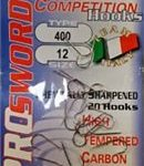 Pro Sword Series 400 Nickel Barbed Hooks