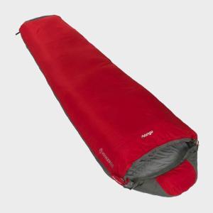Vango Voyager 100 Sleeping Bag, Red/Red
