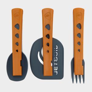 Jetboil JetSet Utensil Kit, Orange/Grey