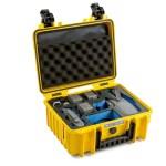B&W 3000/Y/MAVIC2V2 camera drone case Briefcase Yellow...