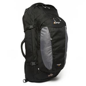 Vango Voyager 60+20 Travel Rucksack, Black