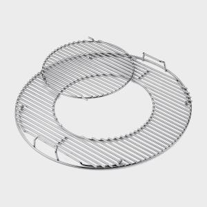 Weber Gourmet BBQ System Cooking Grates, Silver