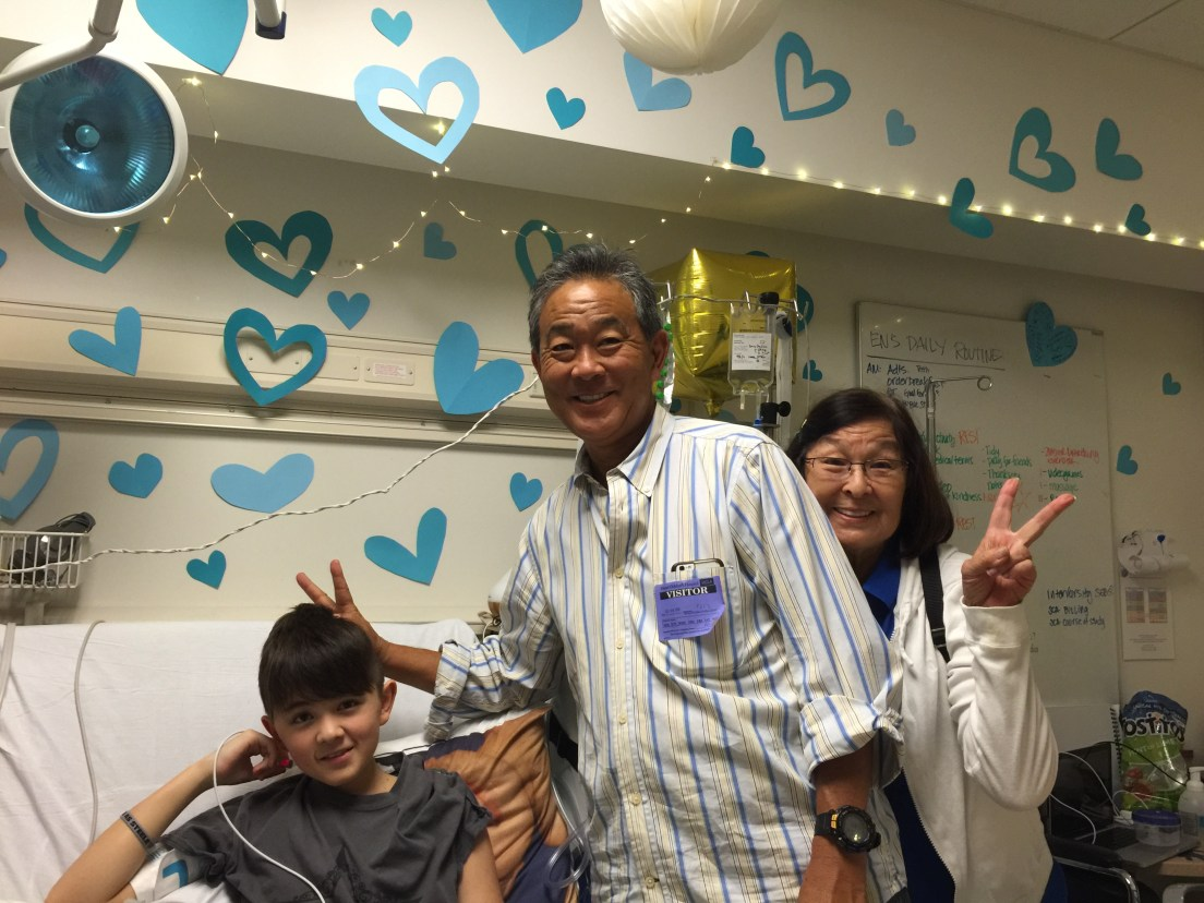 """Nana and Uncle Paul helped decorate my room with gifts from """"Wish Upon a Teen"""""""