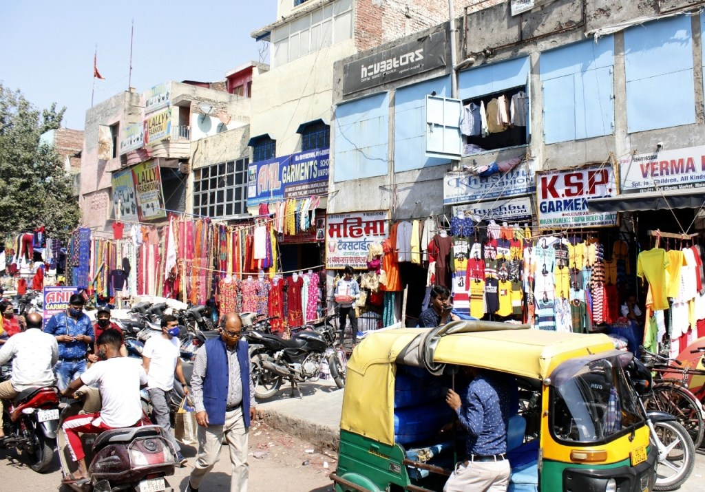 All markets remained open in east Delhi's Madhu Vihar and other areas despite the Confederation of All India Traders' (CAIT) call for a 'Bharat Vyapar Bandh' on Friday.