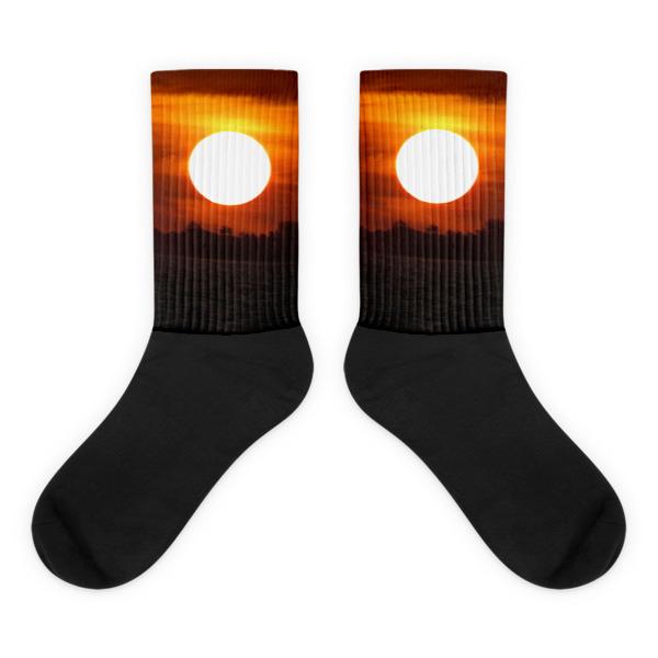 Orange Sunset Socks