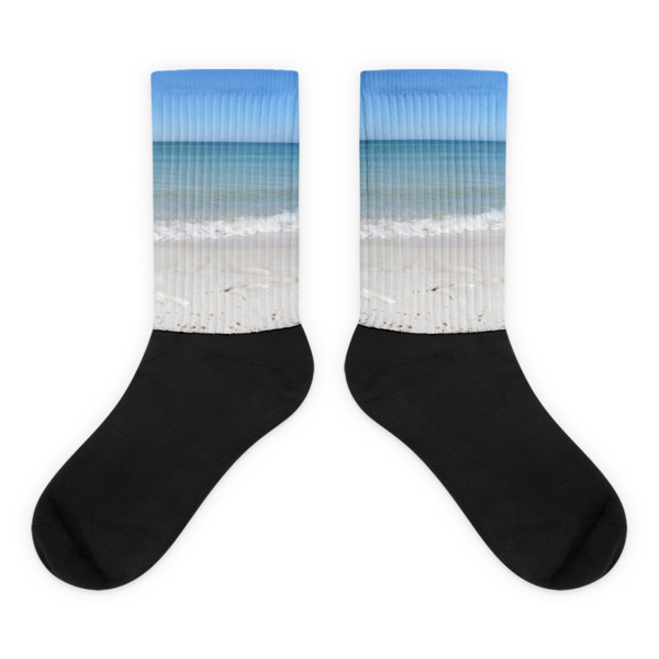 Florida Panhandle Beach Socks