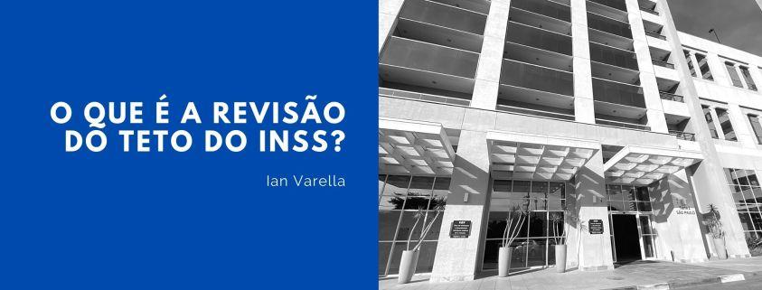 Imagem de um prédio com a frase: o que é a revisão do teto do INSS?